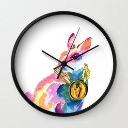 Bling B Wall Clock