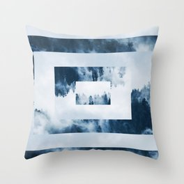 Forest GeoMetric Throw Pillow