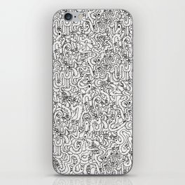Oodles of Worms iPhone Skin
