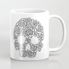 Skull of Roses Coffee Mug