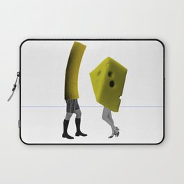 Because she's the cheese and I'm the macaroni Laptop Sleeve