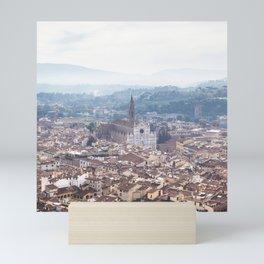 Florence Santa Croce - Pastel Fine Art Photo Print Mini Art Print