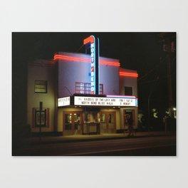 North Bend Cinema Canvas Print