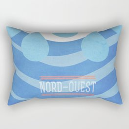 Sea - Nord/Ouest Rectangular Pillow