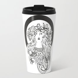 Mucha's Inspiration Travel Mug