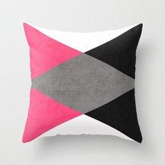 cosmopolitan triangles Throw Pillow