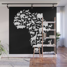 Animals of Africa Wall Mural