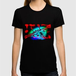 Aviation Fighter Jet pop T-shirt