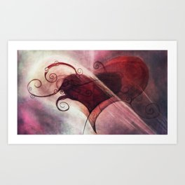 Limited Observations of a Volatile Enigma Art Print