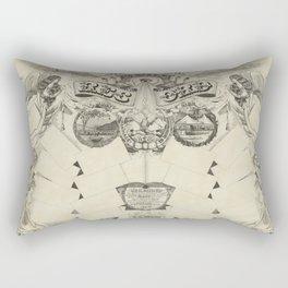 Antique Family Tree Rectangular Pillow