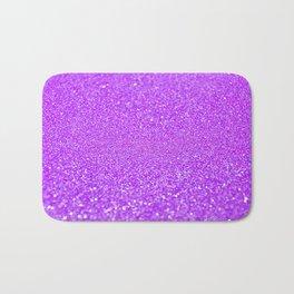 Purple Glitter Bath Mat