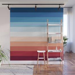 Flag Gradient Wall Mural