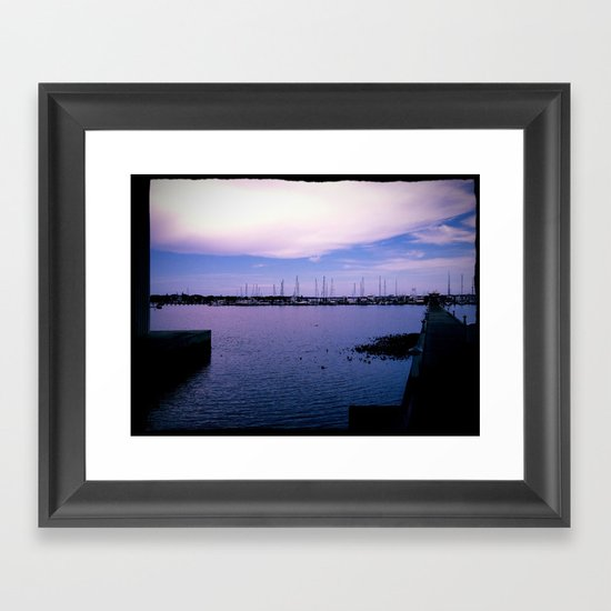 Our secret place Framed Art Print