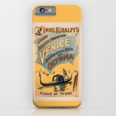 Vintage theatrical poster for Imre Kiralfy's production of Venice Bride of the Sea at Olympia iPhone 6s Slim Case