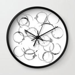 ring from mugs Wall Clock