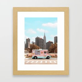New York Ice Cream Gerahmter Kunstdruck