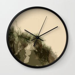 """Not Your Average Wallflowers"" Wall Clock"