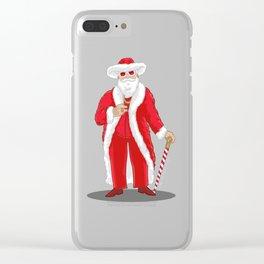 Big Pimpin' Santa Clear iPhone Case