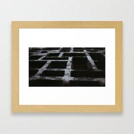 soviet building ussr Framed Art Print