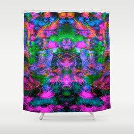 Ultraviolet Totem III Shower Curtain
