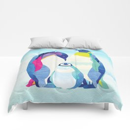 Peter, Wendy & Tink the Penguins Comforters