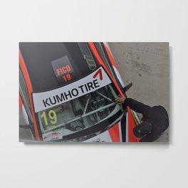 Racer cars Metal Print