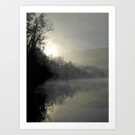 Dawn Reflections Art Print