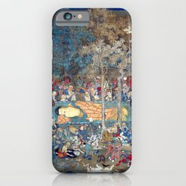 Death of the Historical Buddha iPhone Case