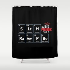 The Big (Bang) Periodic Table Shower Curtain