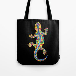 Vivid Barcelona City Lizard Tote Bag