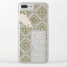 Books Collection: Kafka, The Metamorphosis Clear iPhone Case
