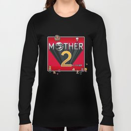 Alternative Mother 2 / Earthbound Title Screen Long Sleeve T-shirt