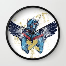 Fallen Hero Eagle Wall Clock
