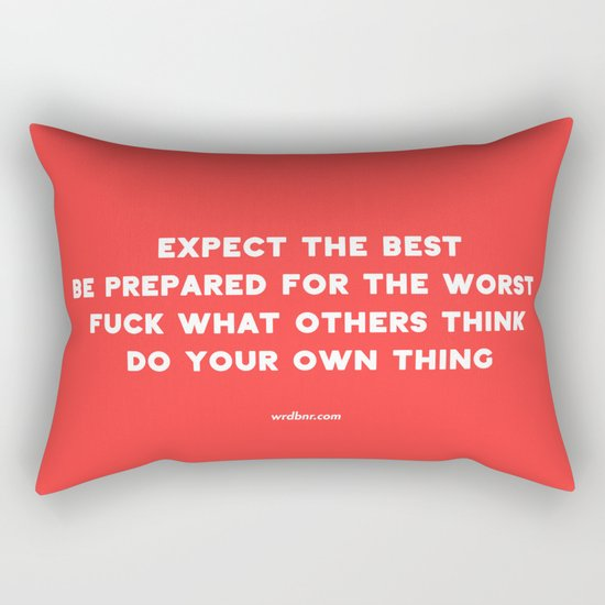 YOUR OWN THING Rectangular Pillow