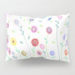 Doodle: blossoms Pillow Sham