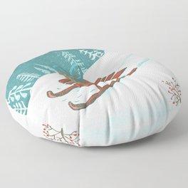 sled post Floor Pillow