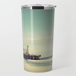 Funtown Pier Seaside Heights Vintage  Travel Mug