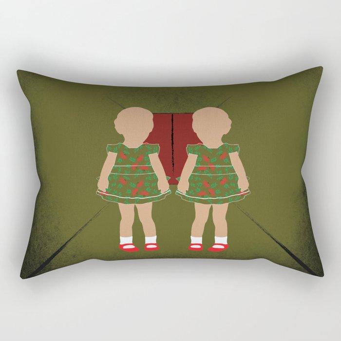 Twin Kids Rectangular Pillow