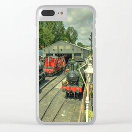 Bridgnorth Depot Clear iPhone Case