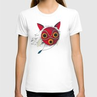 mononoke T-shirts featuring Mononoke Mask  by Puddingshades