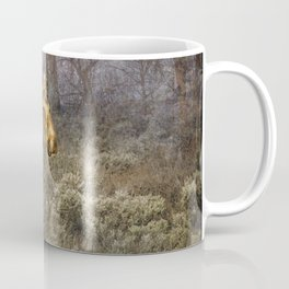 The Calm of a Moose Coffee Mug