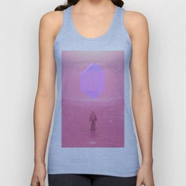 Lost Astronaut Series #03 - Floating Crystal Unisex Tank Top
