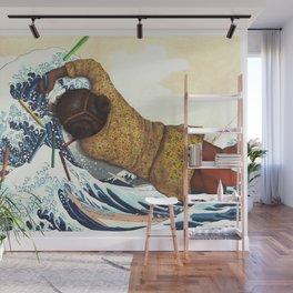 Coloring on Hokusai. Wall Mural