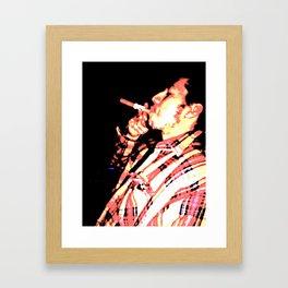 Boss Man Framed Art Print
