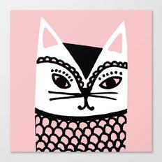 Katze #2 Canvas Print