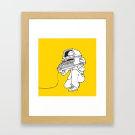 Computer head Framed Art Print