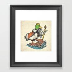Duck Dynasty Framed Art Print