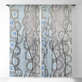 Love from New Zealand Sheer Curtain