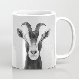 Goat - Black & White Coffee Mug