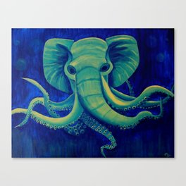 Octophant Canvas Print